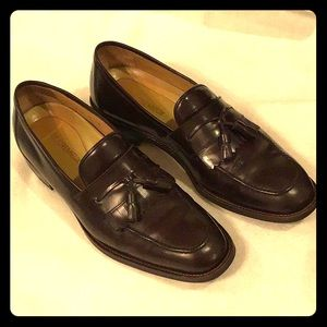 Daniel Cremieux Brown Leather Tassel Loafers